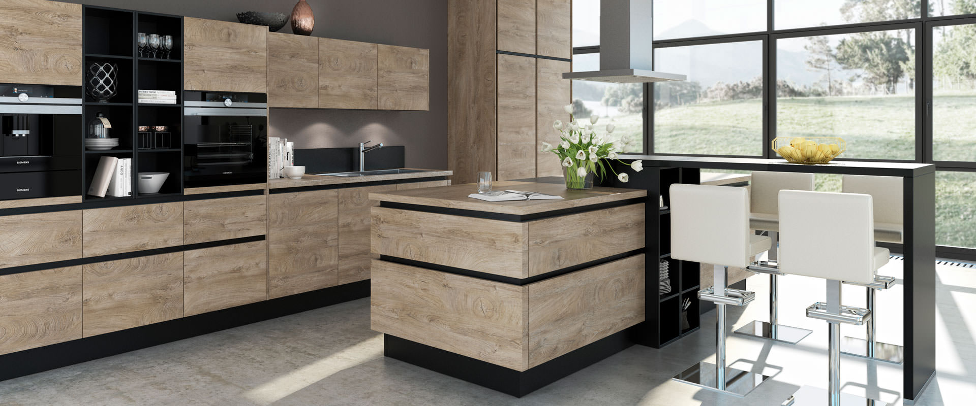 Impuls Kuchen worktops – Stolz Kitchens